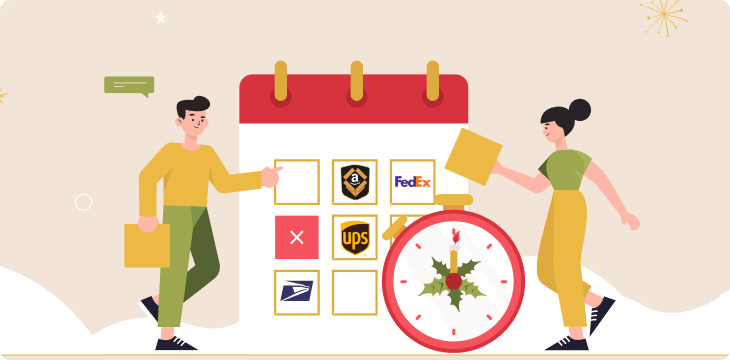 Holiday Shipping Deadlines 2020 (FedEx, USPS, Amazon, UPS)