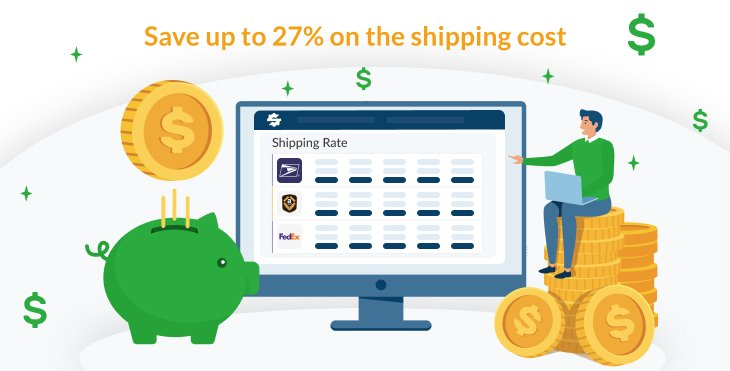 save money with shipping cost
